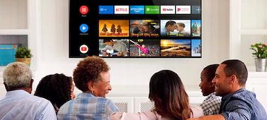 قابلیت های هوشمند در تلویزیون x9000h