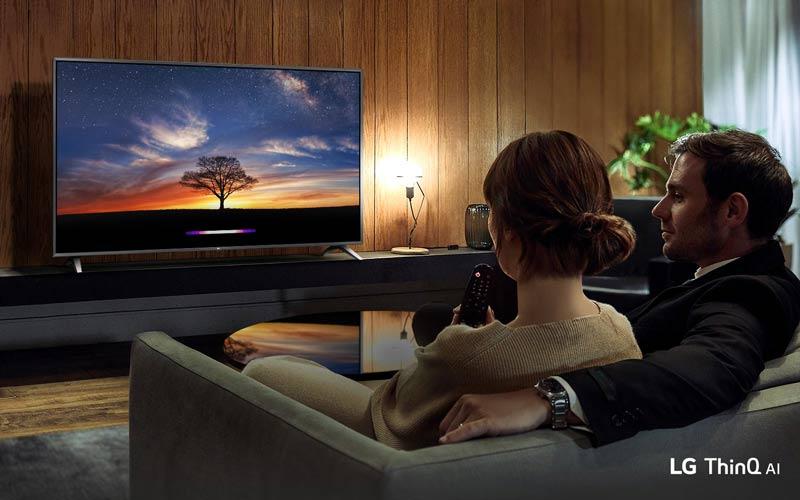 تلویزیون ال جی فورکی اسمارت 49 اینچ 49um7340